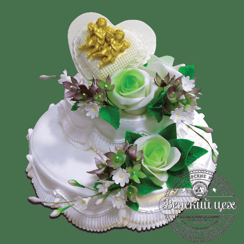 Торт свадебный №1657