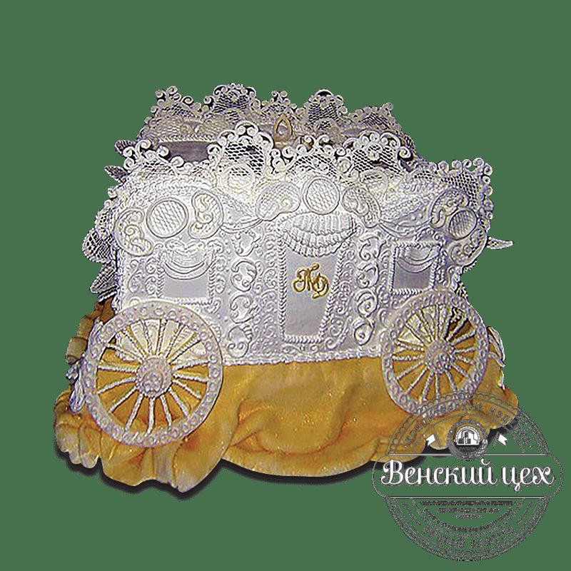 """Торт свадебный """"Карета"""" №1666"""