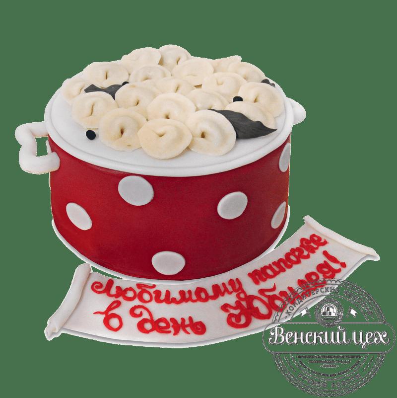 """Торт юбилейный """"Пельмени"""" №1679"""
