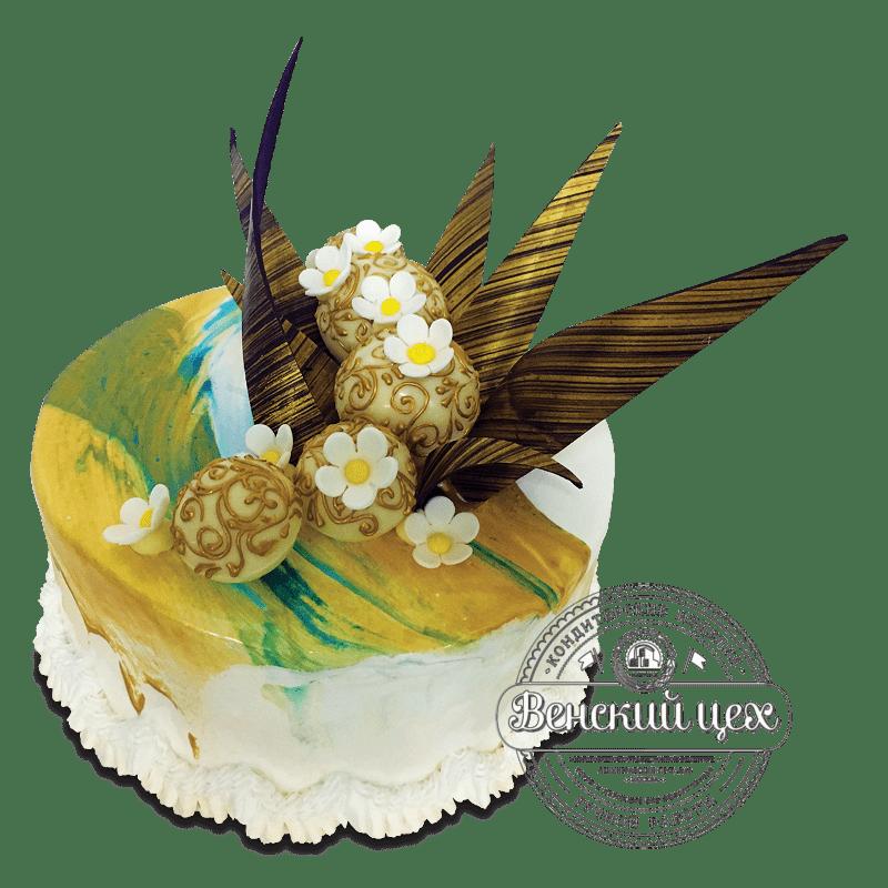 Торт на день рождения №1704