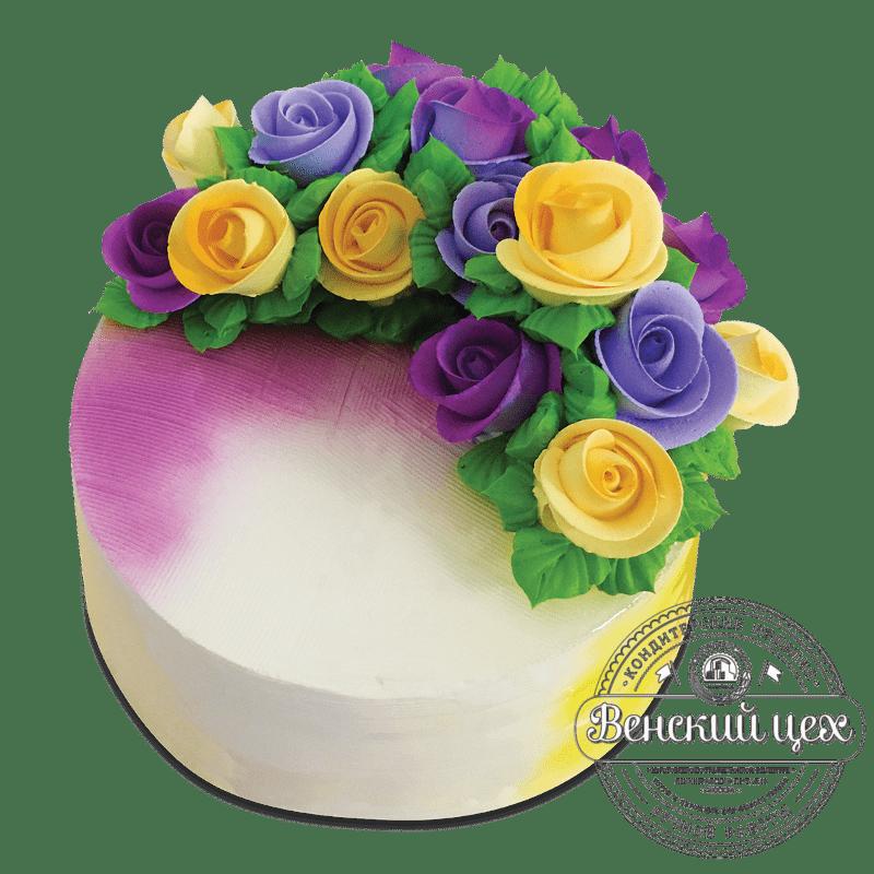Торт на день рождения №1721