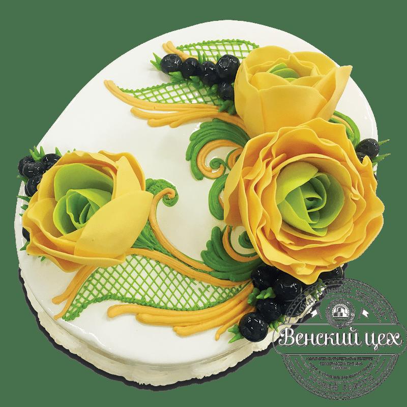 Торт на день рождения №1725