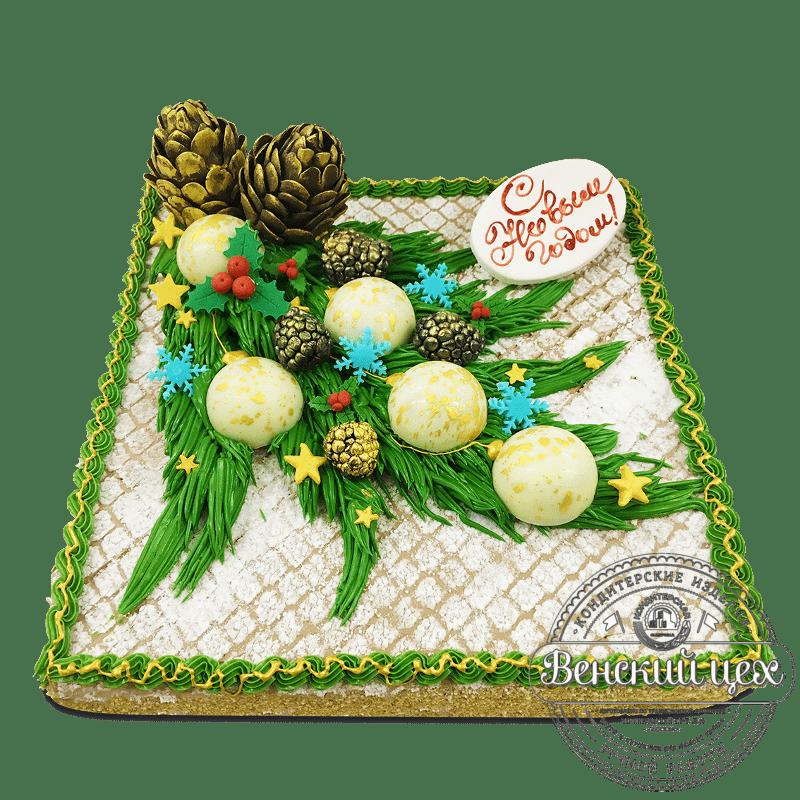 Торт на Новый Год №1732