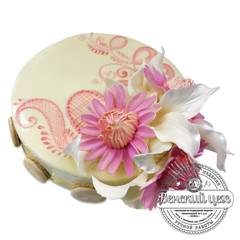 Торт на день рождения  №1733