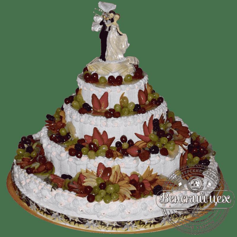 """Торт на свадьбу """"Свадебный Эверест"""" №174"""