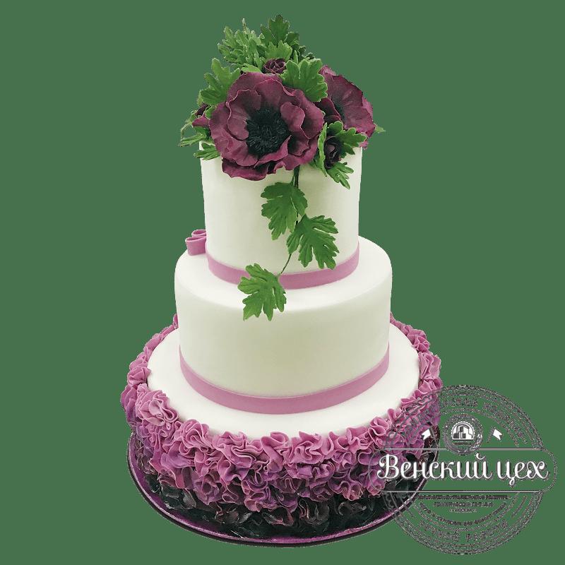 Торт свадебный №1749