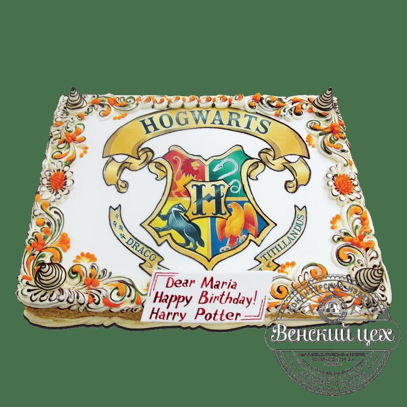 """Торт детский """"Билет до Хогвардса"""" №1759"""
