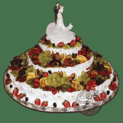 """Торт на свадьбу """"Свежесть фруктов"""" №178"""