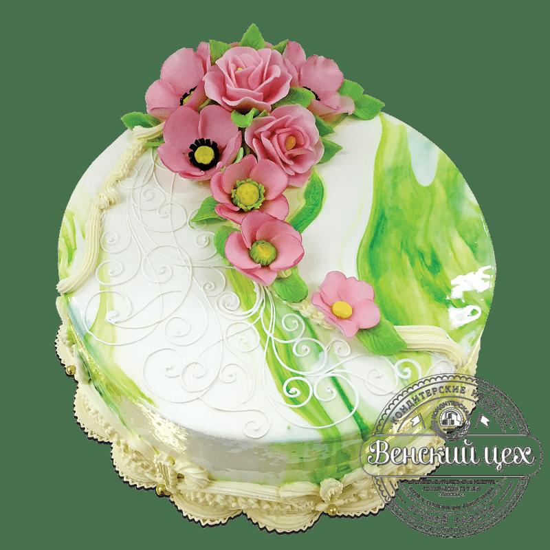 Торт на день рождения №1784