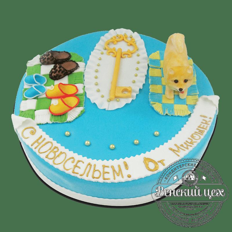 """Торт на праздник """"Новоселье"""" №1834"""
