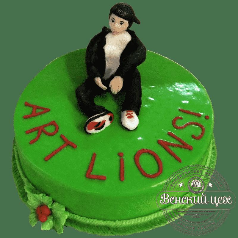 """Торт на день рождения """"Танцор"""" №184"""