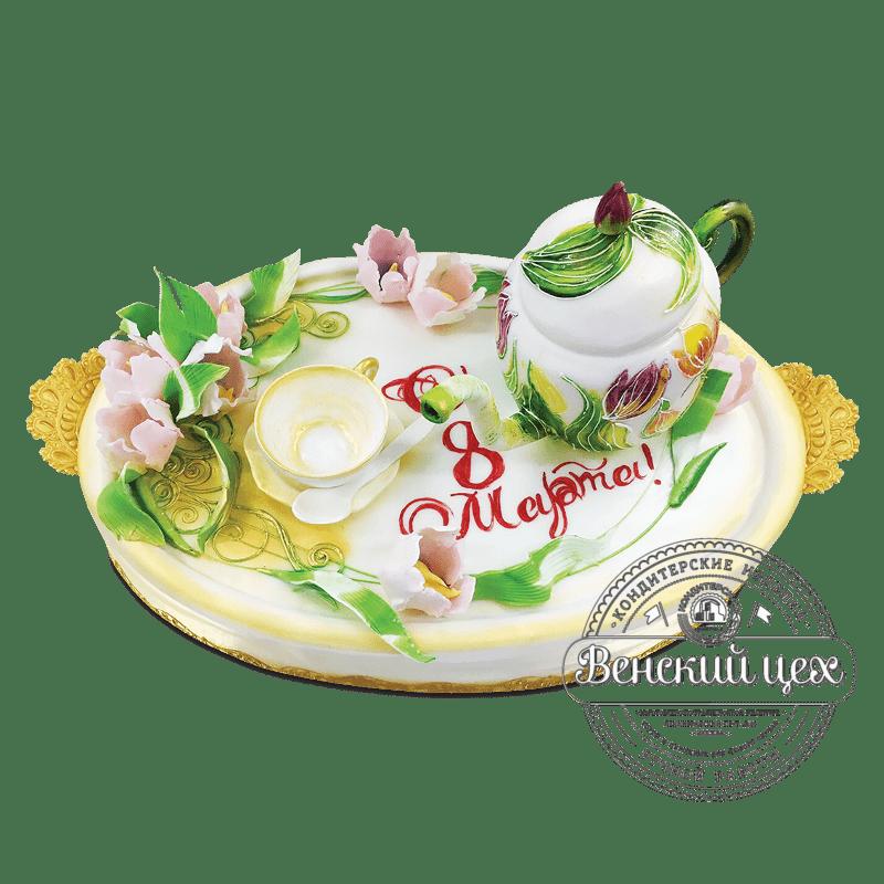 """Торт на праздник """"Чаепитие 2"""" №1846"""
