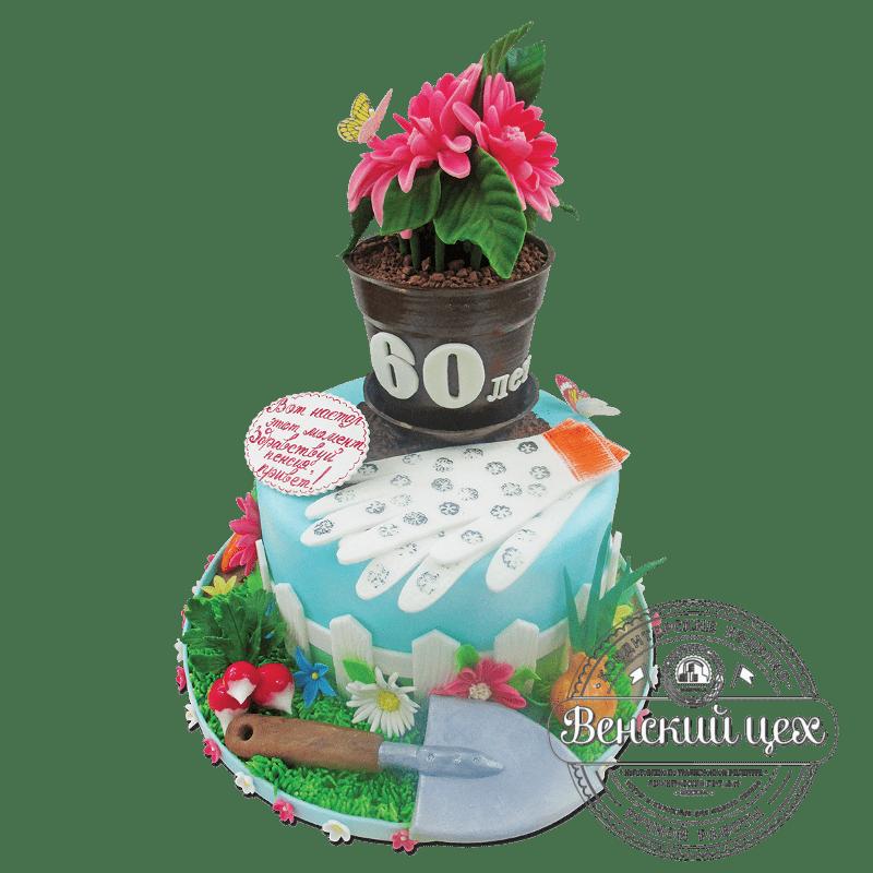 """Торт на день рождения """"Огороднику"""" №1865"""