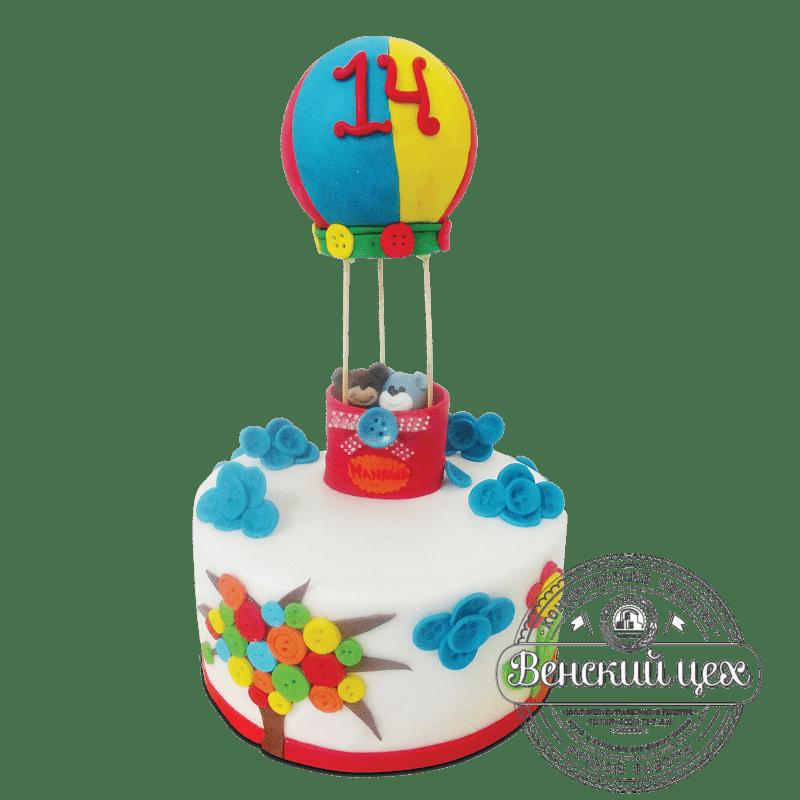 """Торт детский """"Воздушный шар"""" №1871"""