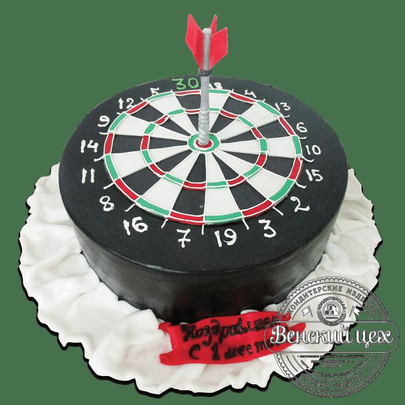 """Торт на праздник """"Дартс"""" №1882"""