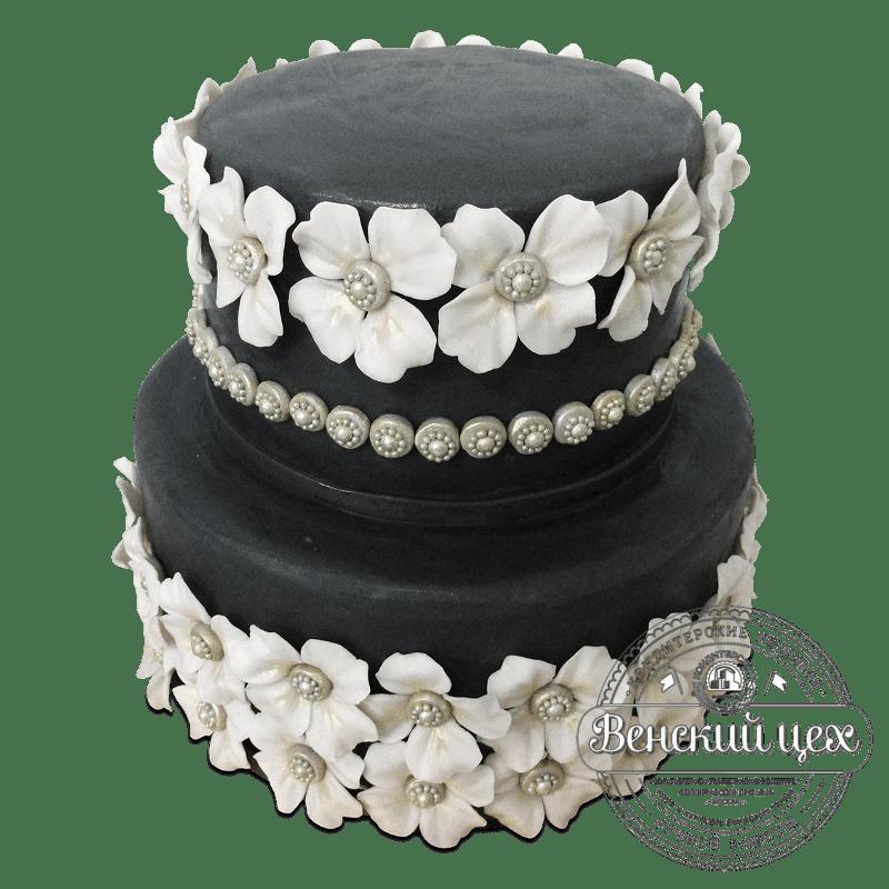 Торт свадебный №1883