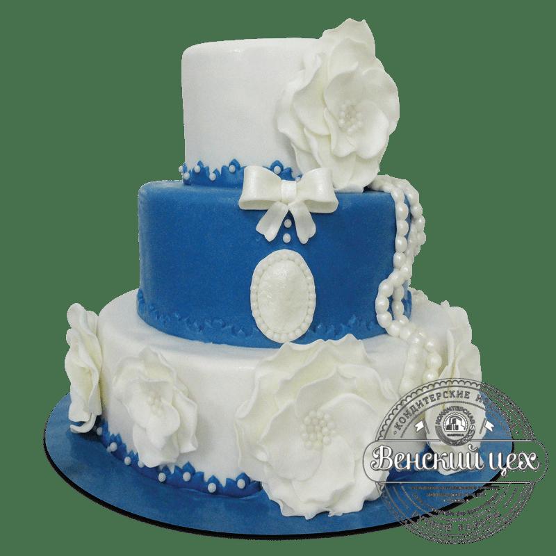Торт свадебный №1895