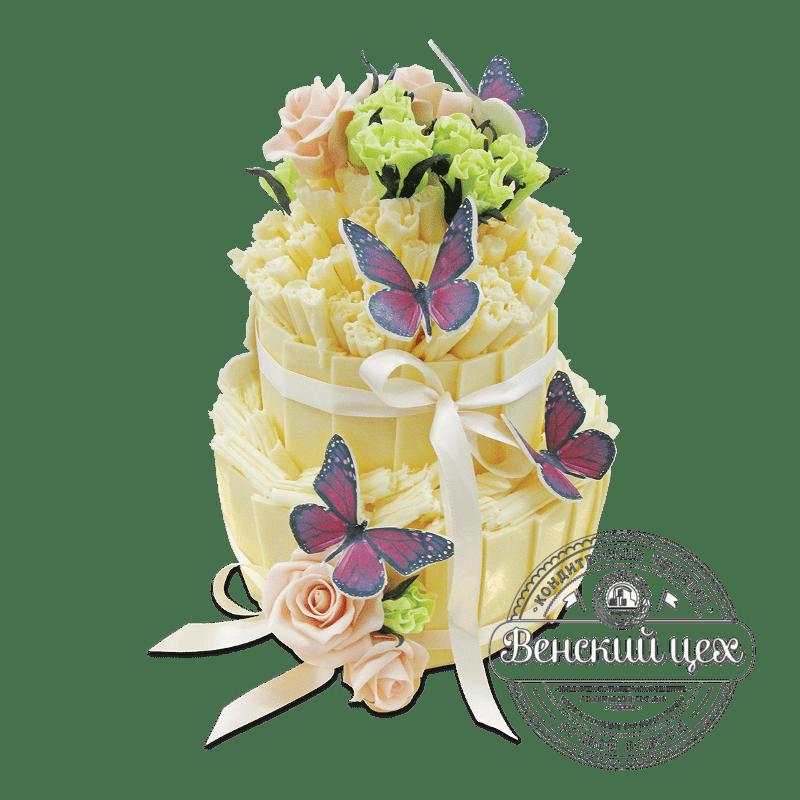 Торт свадебный №1898