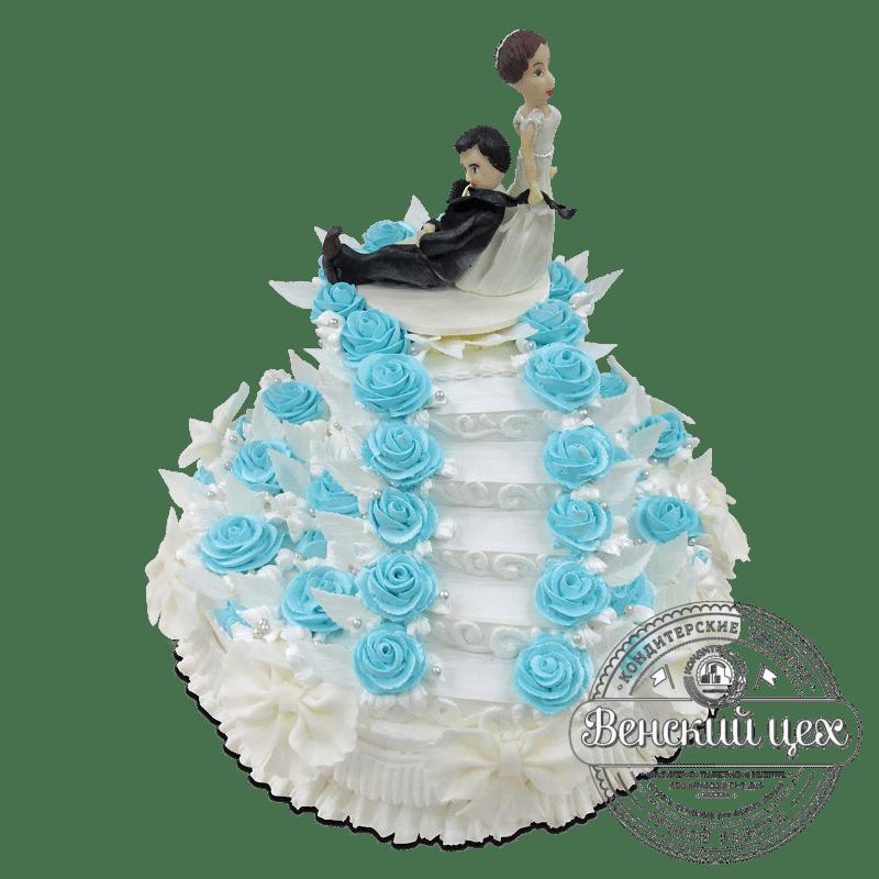 """Торт свадебный """"Сбежавший жених"""" №1899"""