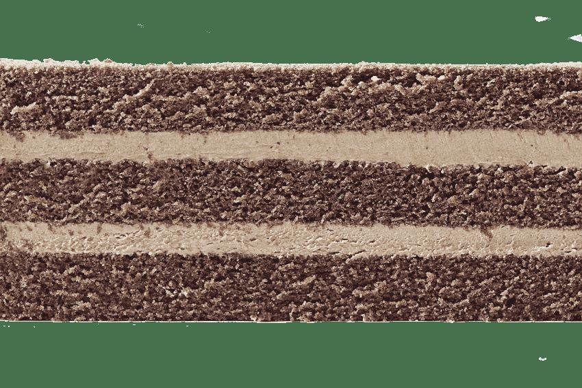 Шоколадный бисквит  с шоколадным кремом #16