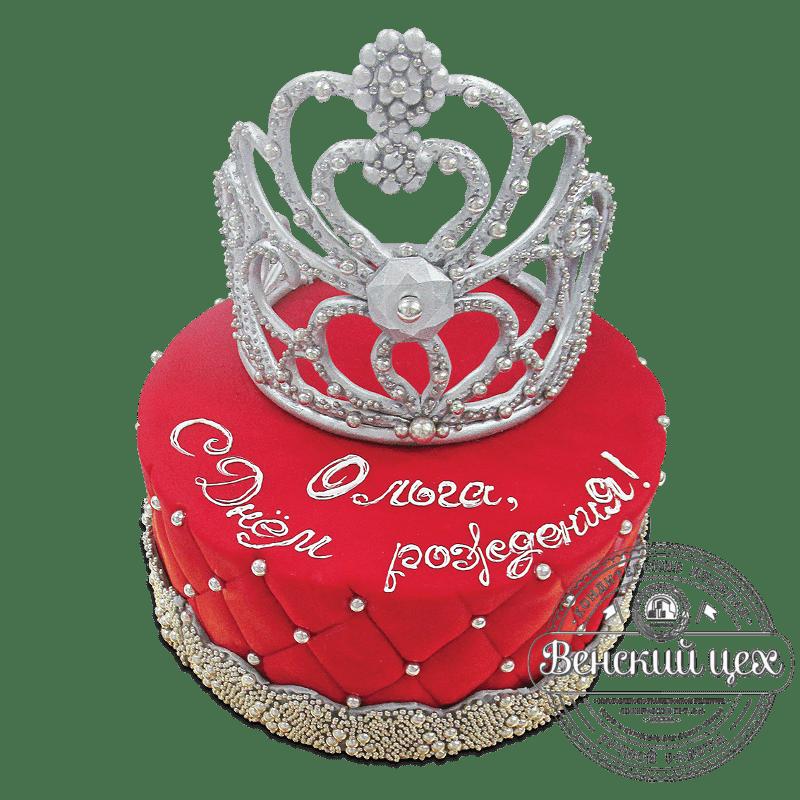 """Торт на день рождения """"Корона"""" №1913"""
