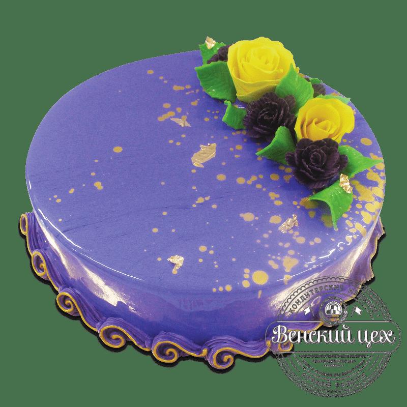 """Торт на день рождения """"Минимализм"""" №1926"""