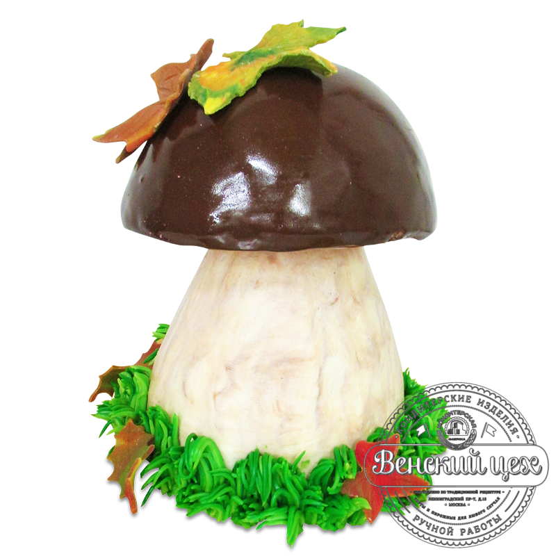 """Торт на день рождения """"Белый гриб"""" №1935"""