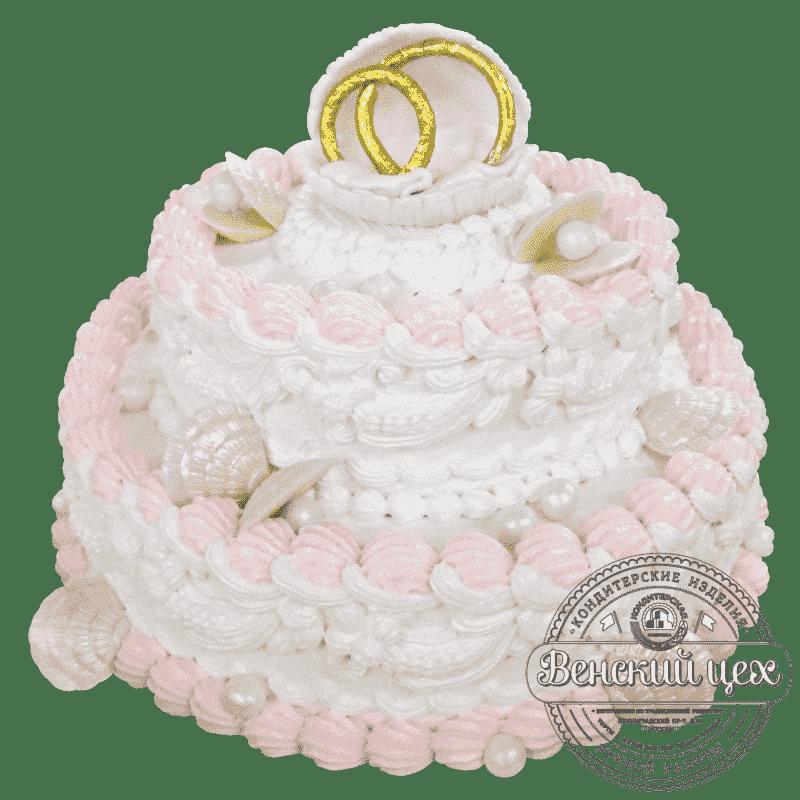 """Торт на свадьбу """"Морская пучина"""" №195"""