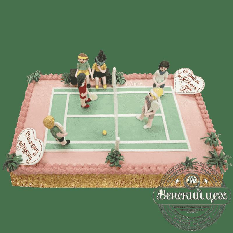 Торт на корпоратив «Большой теннис» №198