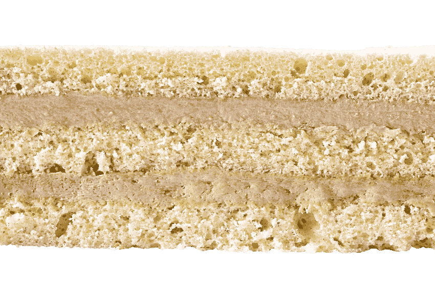 Бисквит с кремом  из вареной сгущенки #21