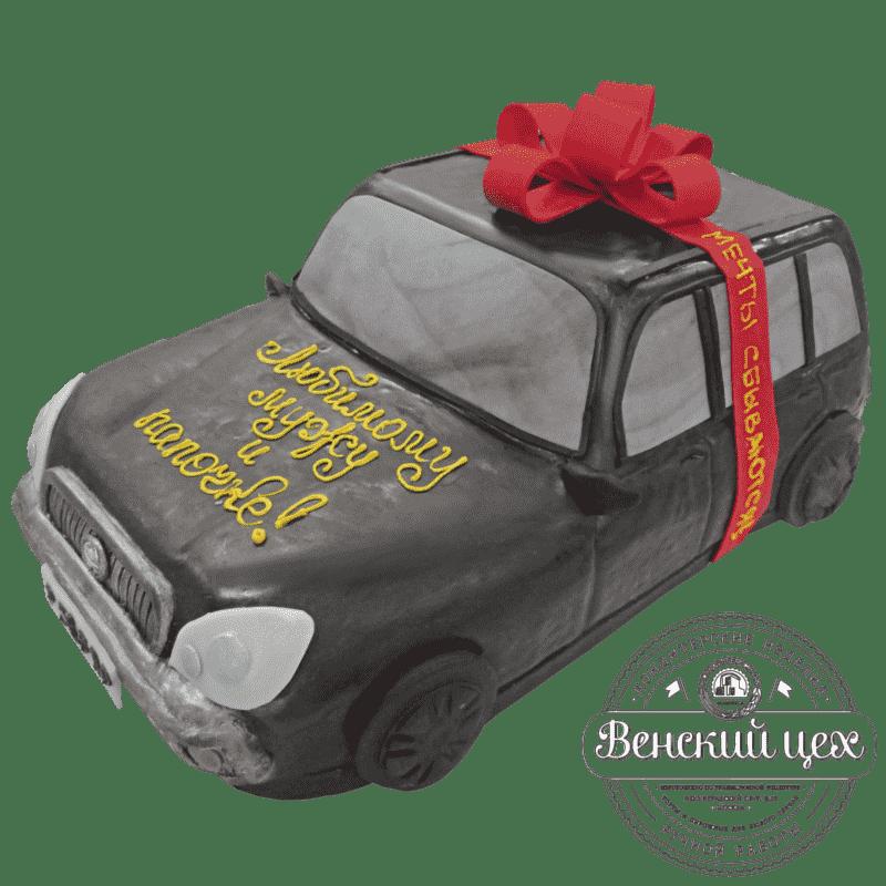 """Торт на день рождения """"Автомобиль"""" №203"""