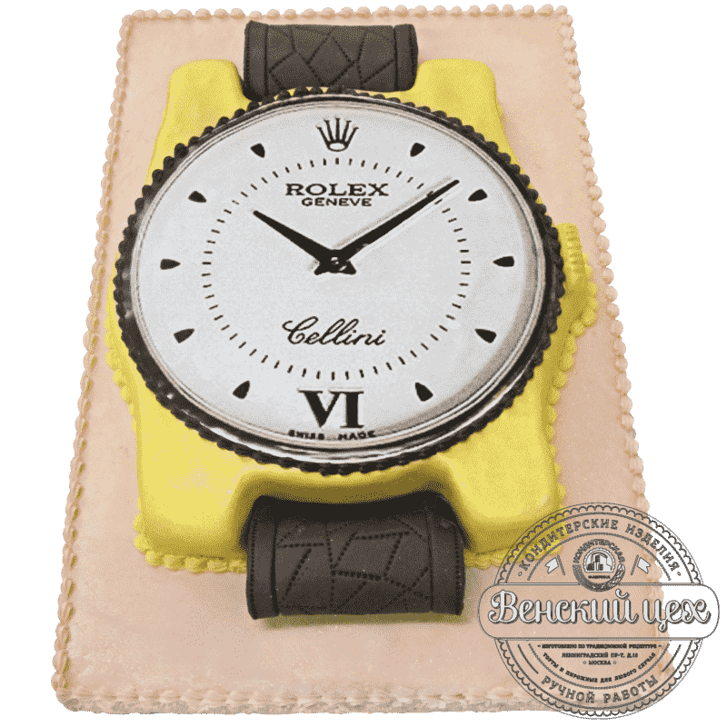 Праздничный торт «Часы Rolex» №217