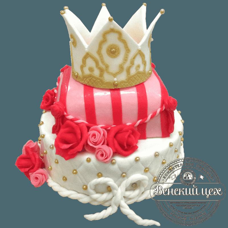 """Торт детский """"Царская особа"""" №22"""