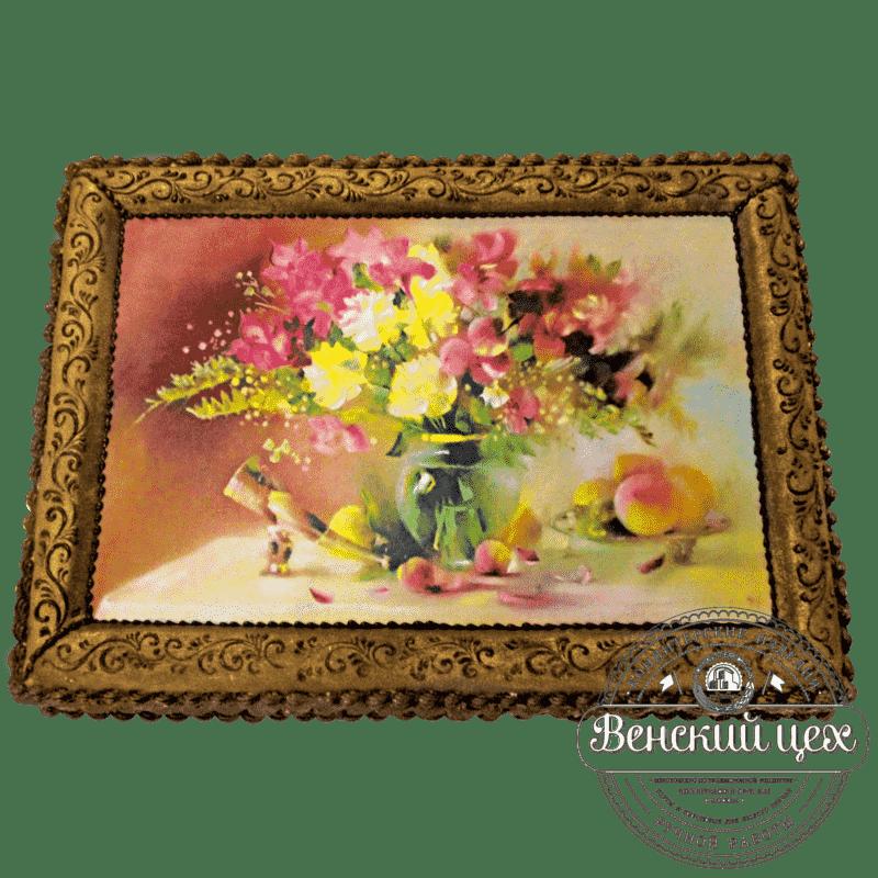 Праздничный торт «Натюрморт» №224