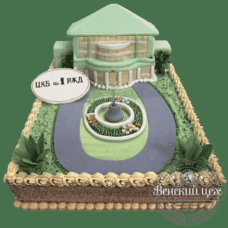 Торт на корпоратив «Городская клиническая больница» №237