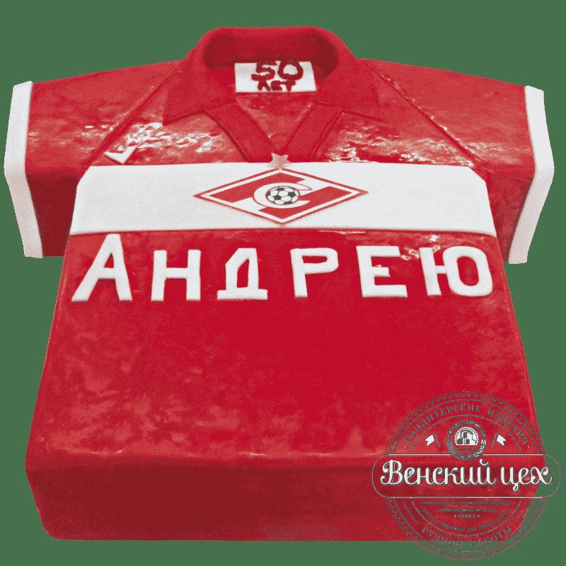 """Торт на день рождения """"Спартак - Чемпион!"""" №253"""