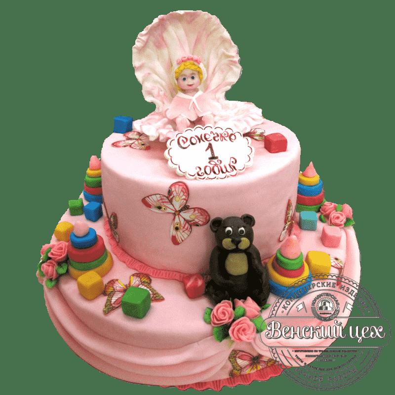 "Торт детский ""Детские игрушки"" №267"