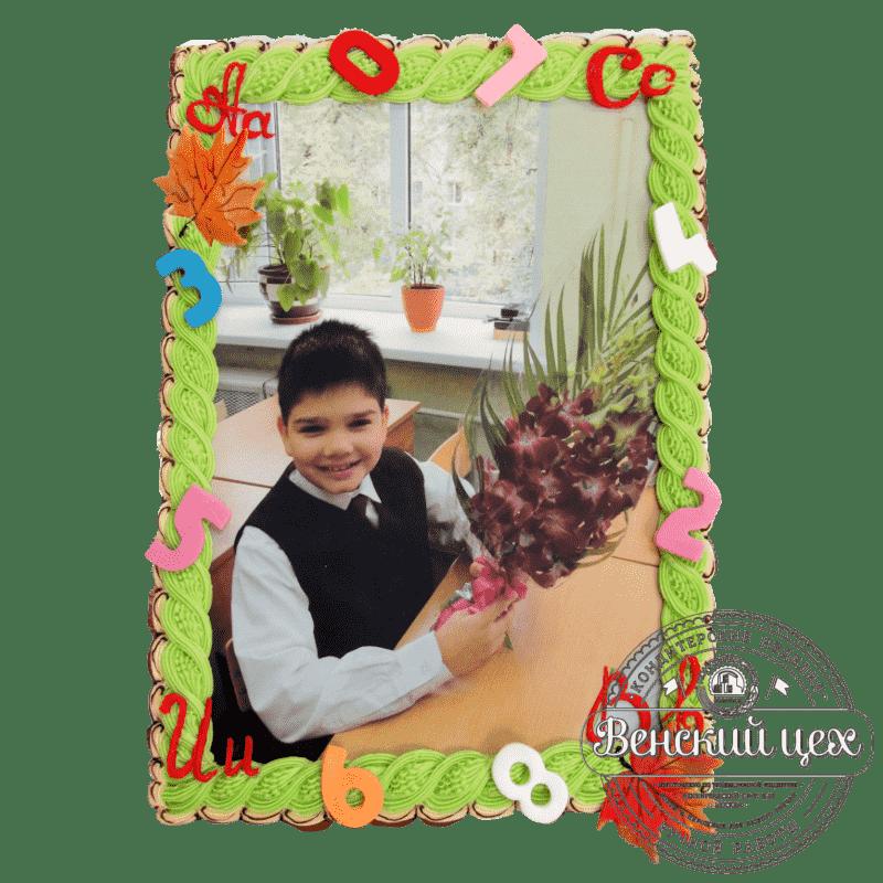 """Детский торт на день рождения """"Снова в школу"""" №286"""