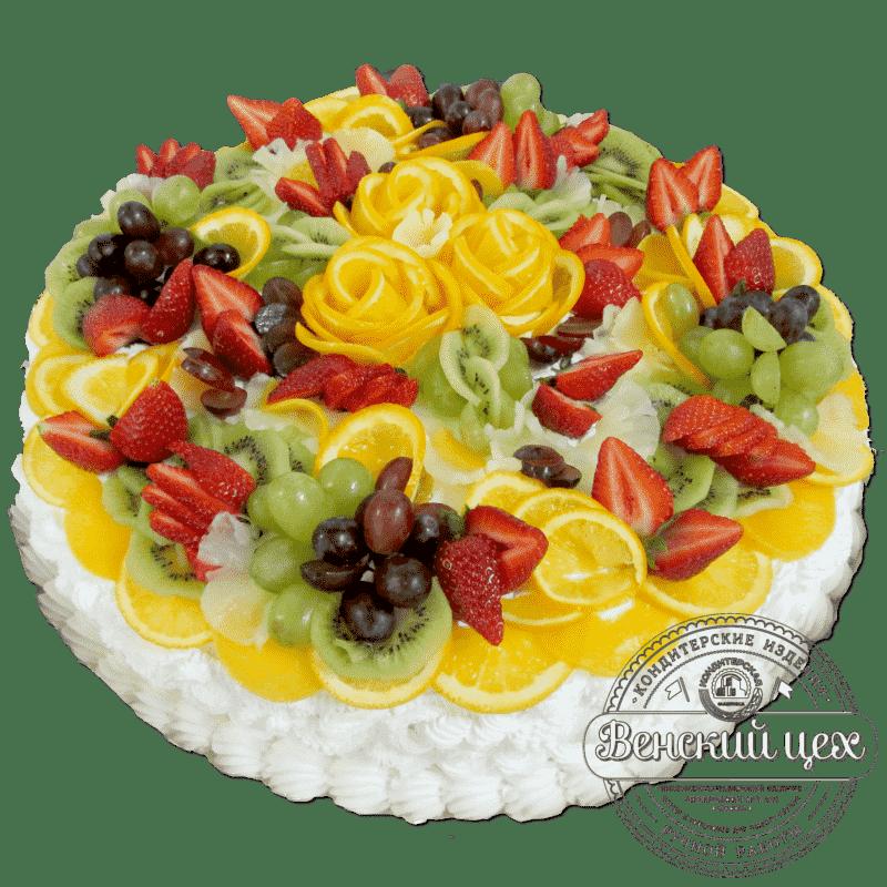 """Торт на праздник """"Фруктовый букет""""  №287"""