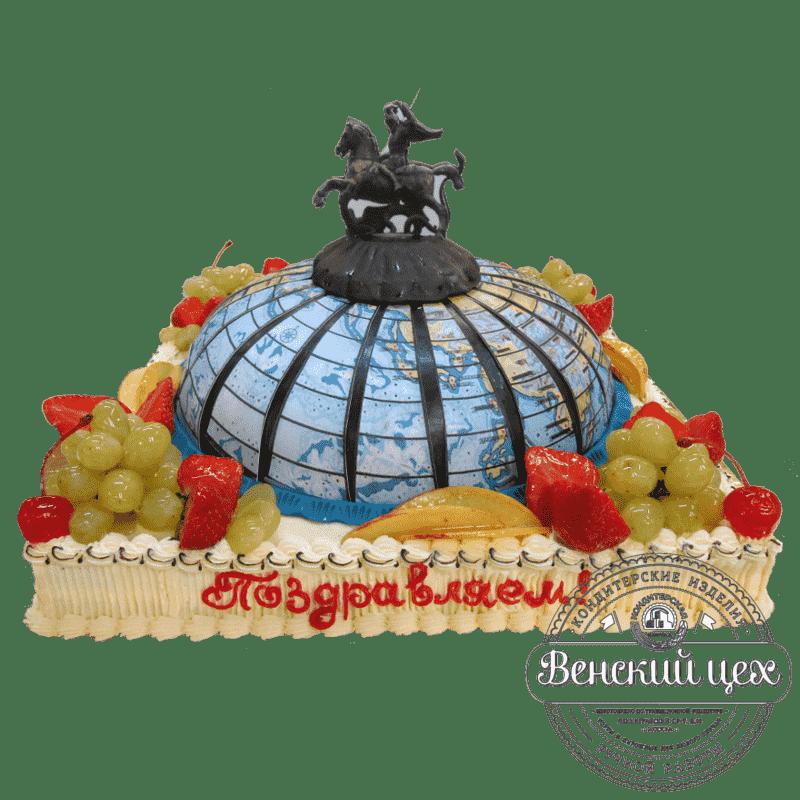 Торт на корпоратив «Георгий Победоносец» №298