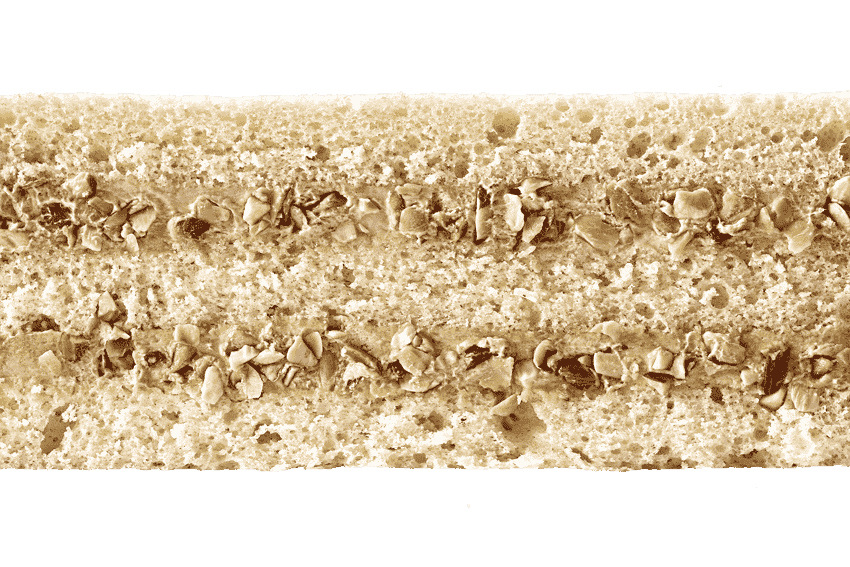 Бисквит с кремом  из вареной сгущенки и орехами #23