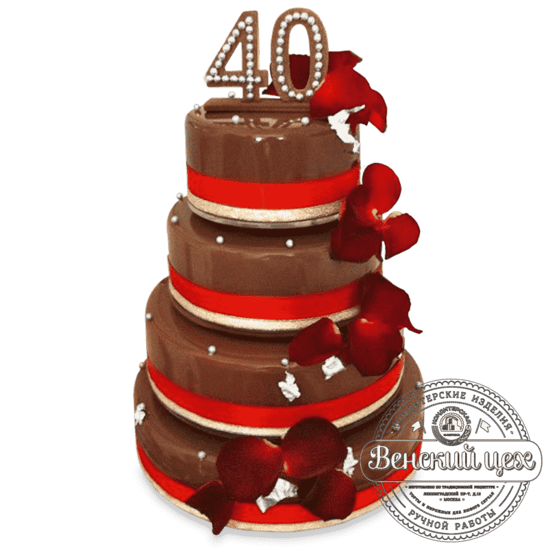 """Торт на праздник  """"Глазурь"""" №30"""