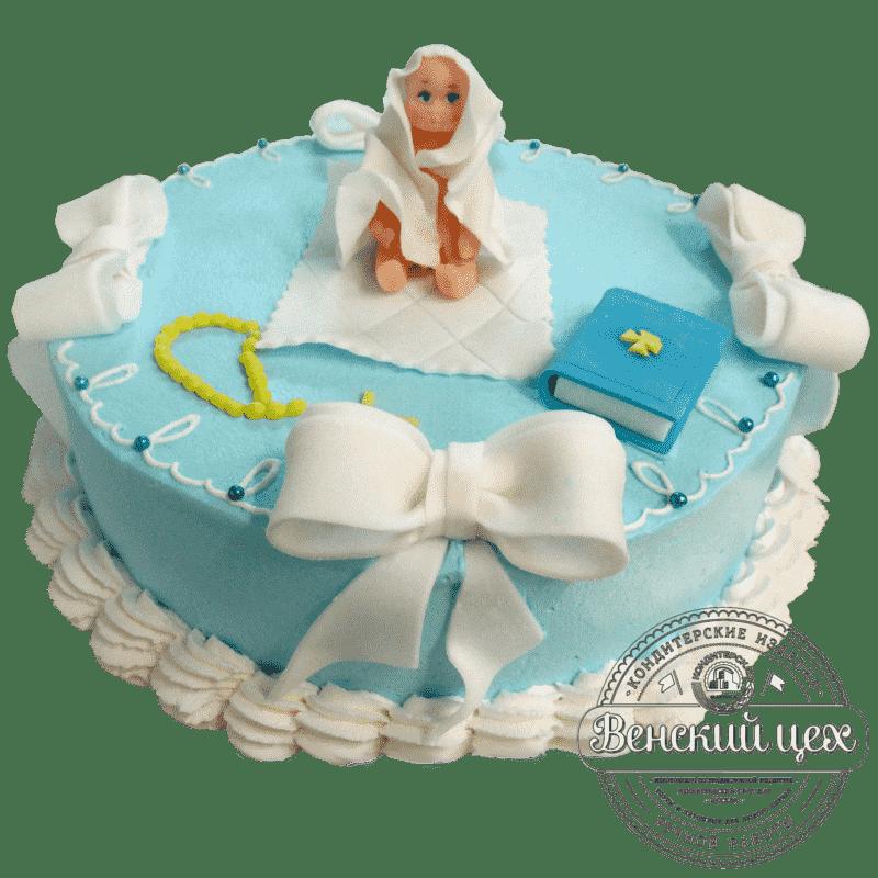 """Торт детский """"На крестины"""" №31"""
