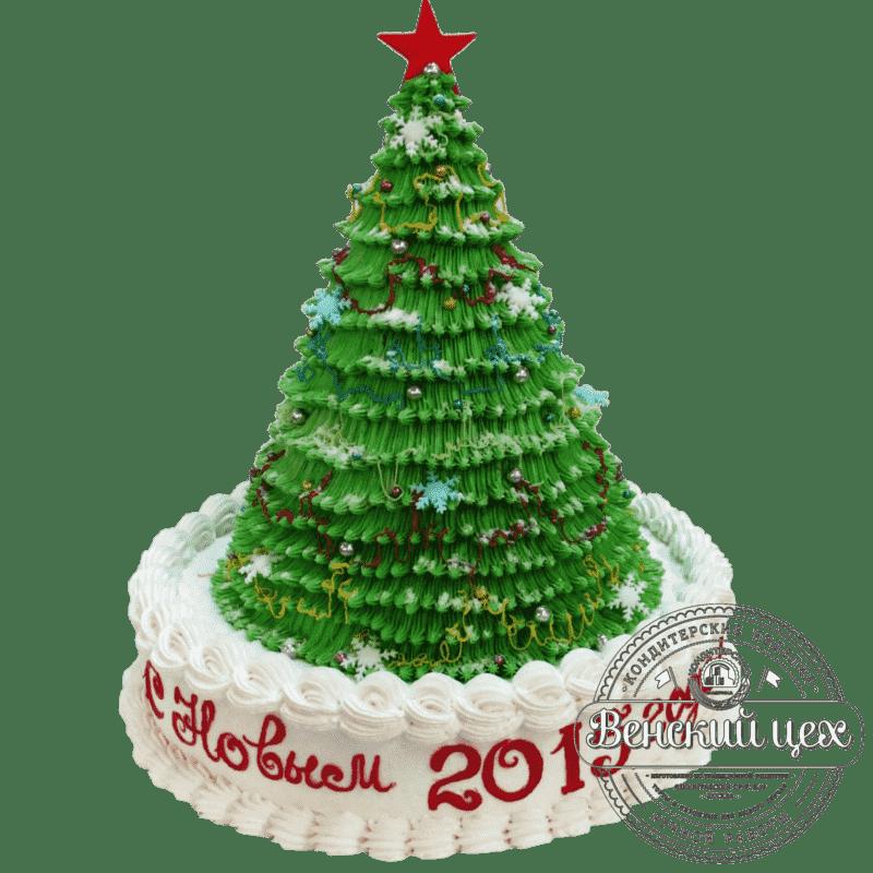 Праздничный торт «Ёлочка» №310