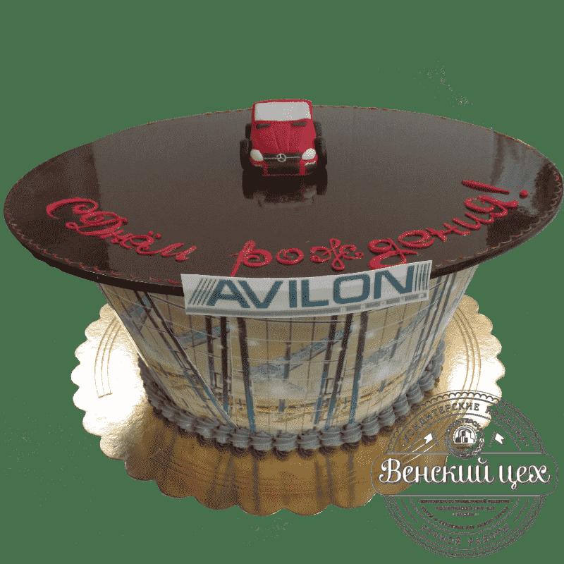 Торт на корпоратив «Автосалон»  №318