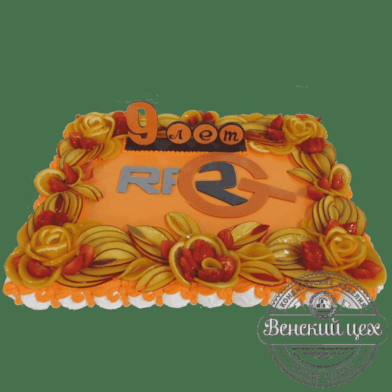 Торт на корпоратив «Солнечный» №319