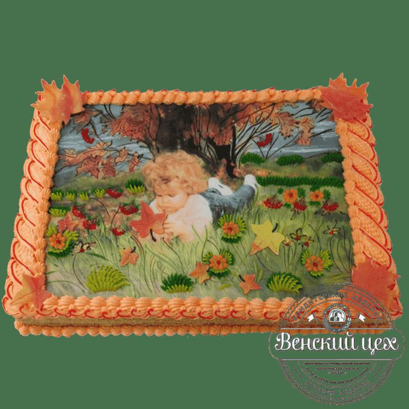 Торт на день рождения ребенку «Золотое детство» №323