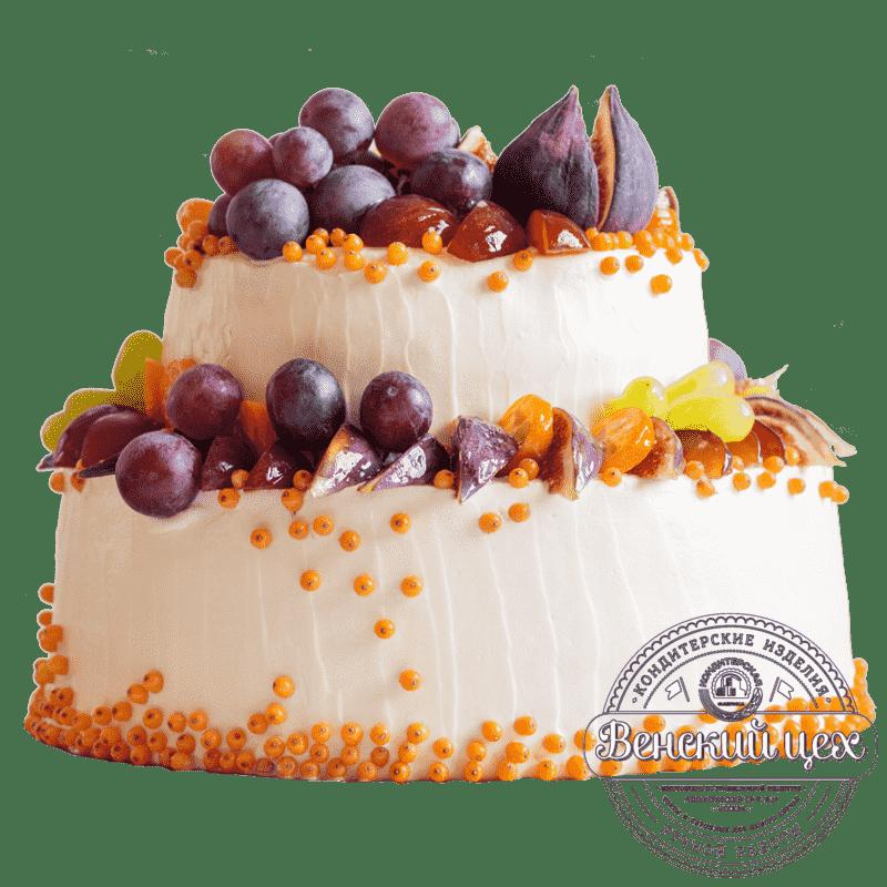 Праздничный торт «Фруктовое вдохновение» №325
