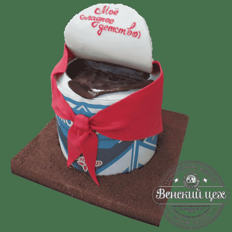 """Торт на День Рождения """"Сгущенка"""" №332"""