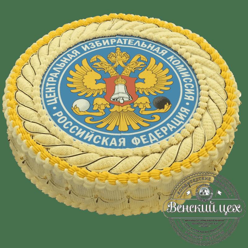 Торт на корпоратив «Государственный символ» №347